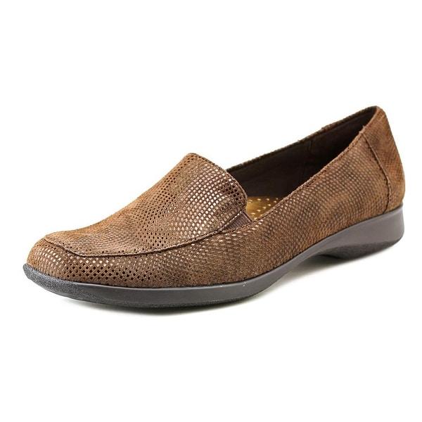 Trotters Jenn Mini Dots  N/S Square Toe Leather  Flats
