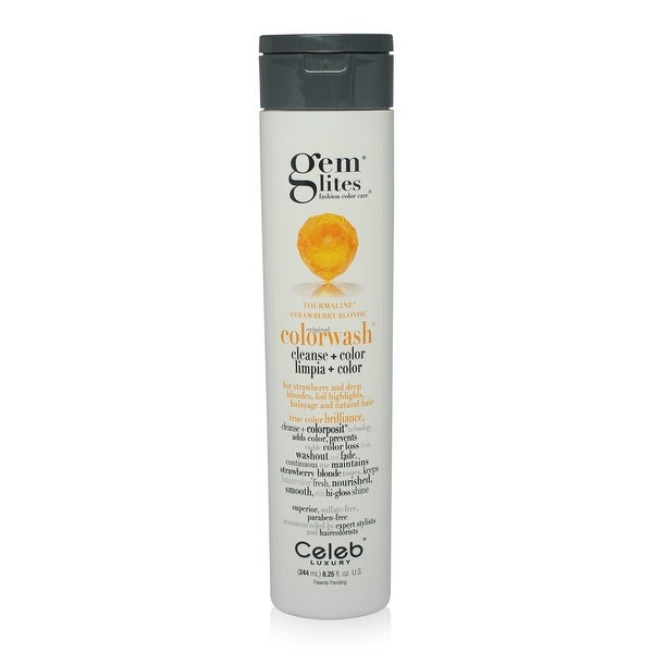 Celeb - Gemlites -Tourmaline Colorwash Shampoo 8.25 Oz