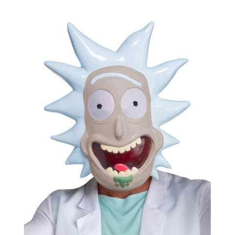 Adult Rick and Morty Rick Costume Mask - Standard