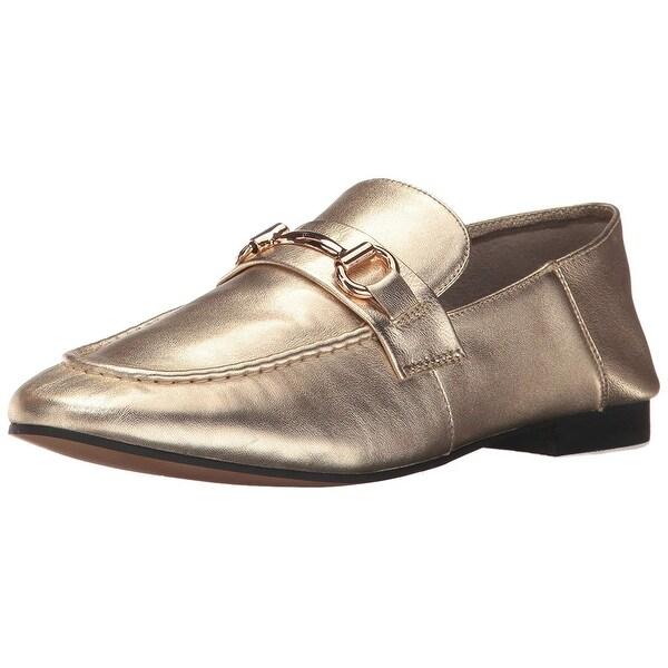 Shop Steven by Steve Madden Womens Santana Leather Almond Toe ...