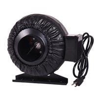 Costway 4'' Inch Inline Fan Hydroponics Exhaust Fan Duct Cooling Fan Strong CFM