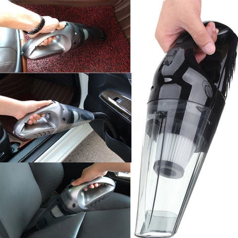 Global Pronex Portable Wet & Dry Car Home Vacuum Cleaner Rechargeable Handheld High Power 120W