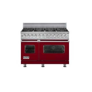Viking VDSC5488BLP 48 Inch Wide 6.6 Cu. Ft. Free Standing Dual Fuel Range with V