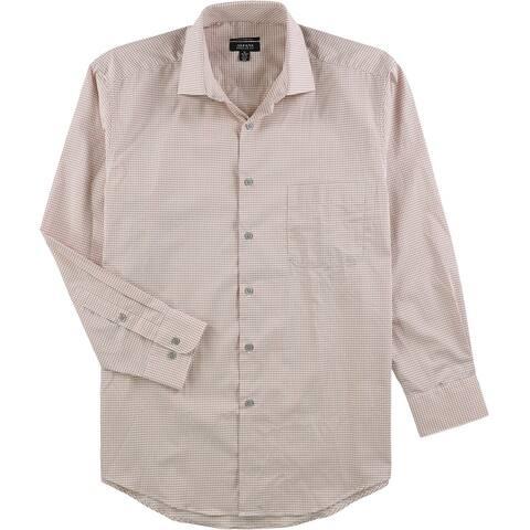 Alfani Mens Performance Button Up Dress Shirt