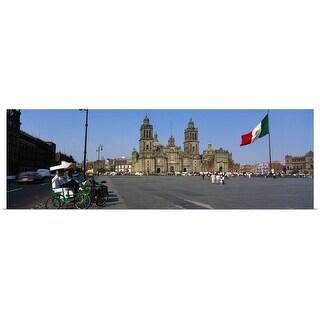 """Cathedral Metropolitana Mexico City Mexico "" Poster Print"