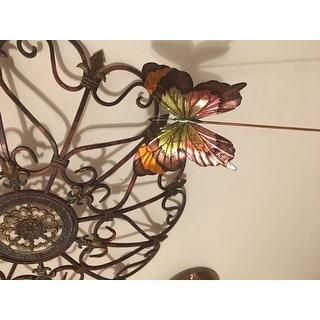 Handmade Butterfly Blue Garden Decoration