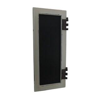 "10""X24"" Wood Window w/Chalk board"