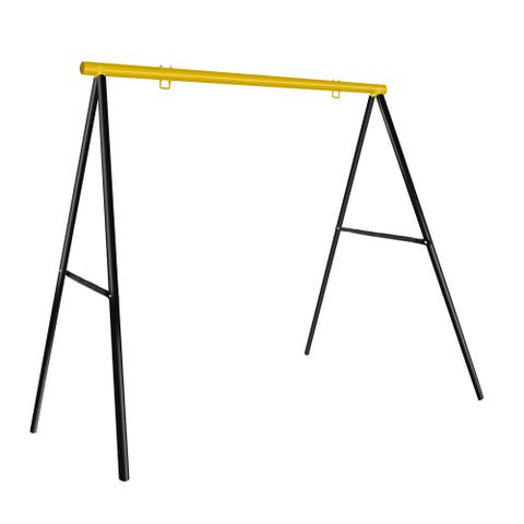 luckypet Extra Large A-Frame Swing Frame Metal Swing Stand