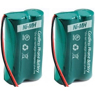 Replacement GE/RCA 6010 Battery for 25270RE3 / 2100-0BKGA Phone Models (2 Pack)