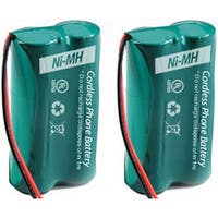 Replacement GE/RCA 6010 Battery for 25423RE1 / H5400RE3 Phone Models (2 Pack)