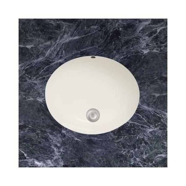 Mirabelle Miru1714a 17 Porcelain Undermount Bathroom Sink With Overflow