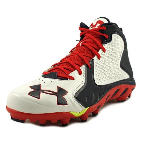 Under Armour Team Spine Fierce MCW Men Wht/Mdn/Red Cleats