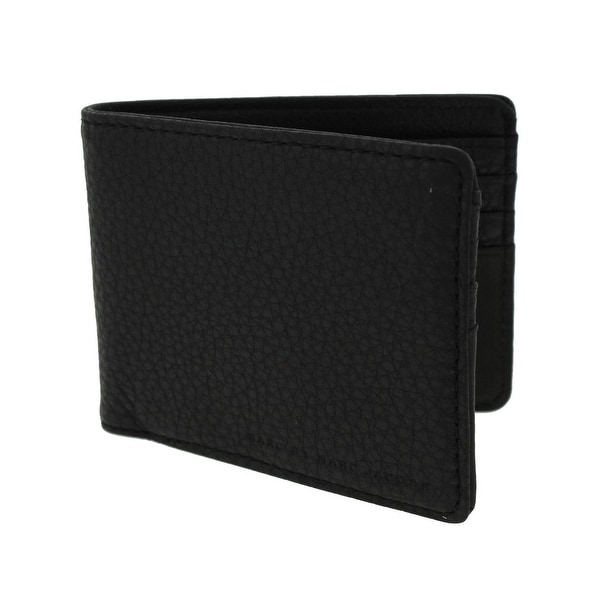 Marc by Marc Jacobs Mens Bifold Wallet Pebbled Leather - o/s