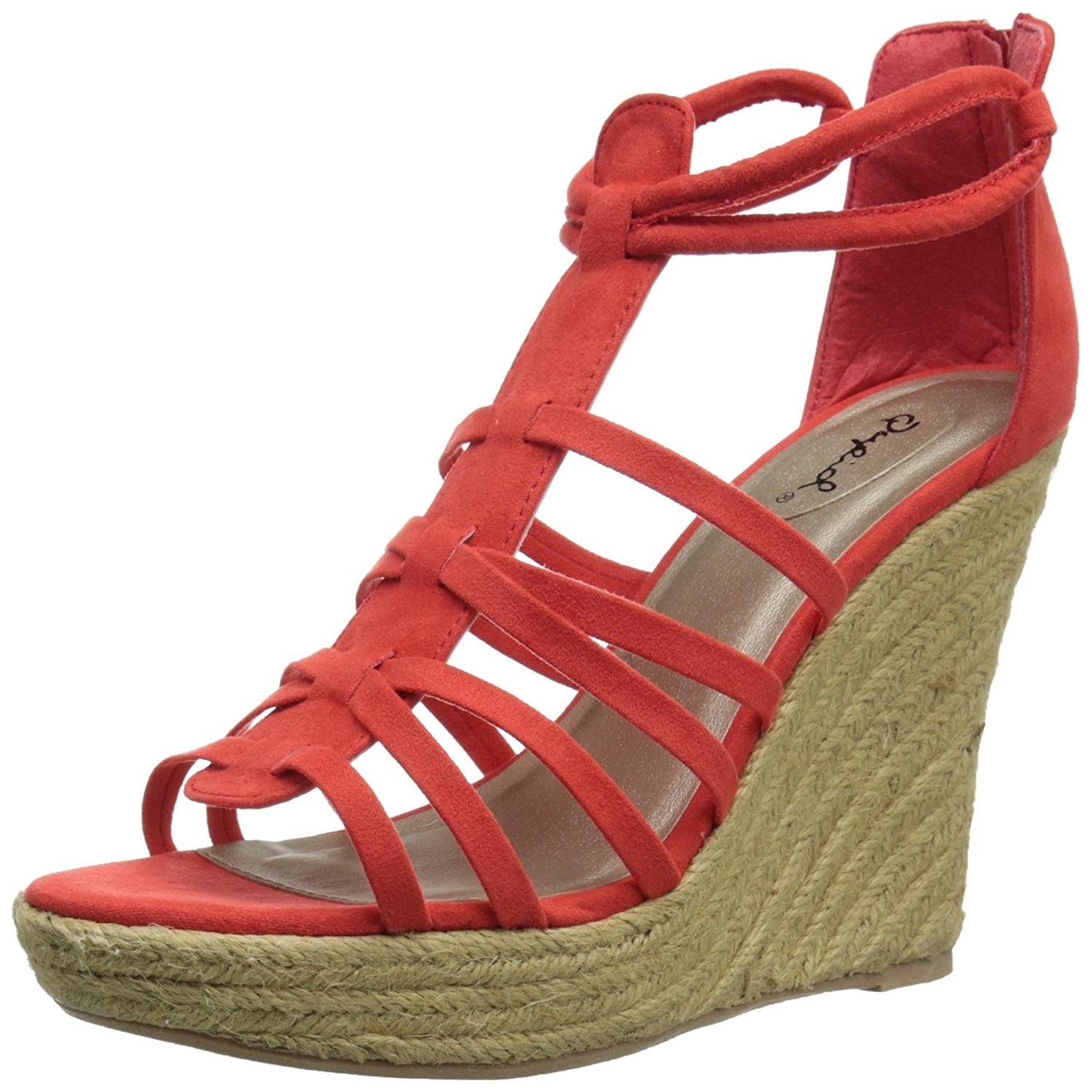 951a8e46784 Buy Black Qupid Women's Sandals Online at Overstock | Our Best ...