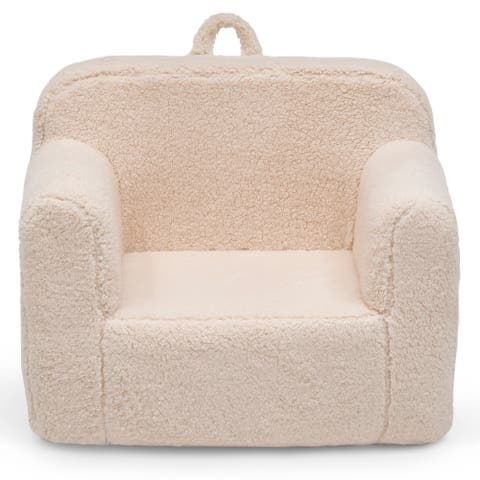 Delta Children Cozee Sherpa Chair for Kids for Ages 18 Months and Up