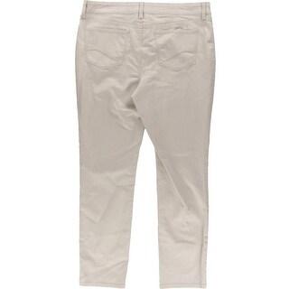 NYDJ Womens Slimming High Waist Skinny Jeans