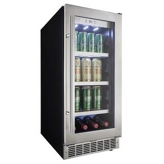 Danby DBC031D4 15 Inch Wide 8 Bottle Capacity Built-In Beverage Center LED Light
