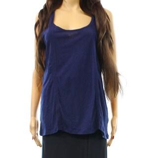 PJ Salvage NEW Blue Womens Size Small S Lace Trim Tank Style Sleepshirt