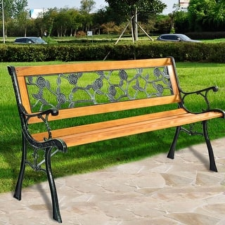 Costway Patio Park Garden Bench Porch Chair Outdoor Deck Cast Iron Hardwood Rose https://ak1.ostkcdn.com/images/products/is/images/direct/27573c06b46cc4fe401ba39c2e00b4fe68c124cc/Costway-Patio-Park-Garden-Bench-Porch-Chair-Outdoor-Deck-Cast-Iron-Hardwood-Rose.jpg?impolicy=medium