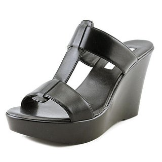 INC International Concepts Paciee Women Black Sandals