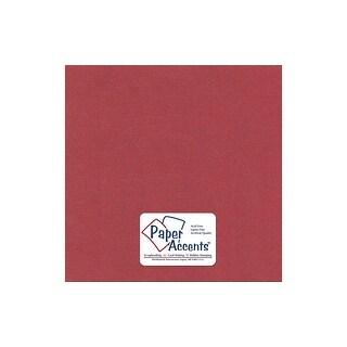 Paper Pearlized 12x12 80lb Marsala 5pc
