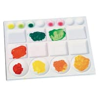 Jack Richeson Acrylic/Watercolor Palette, 9-3/4 x 13 Inches, White