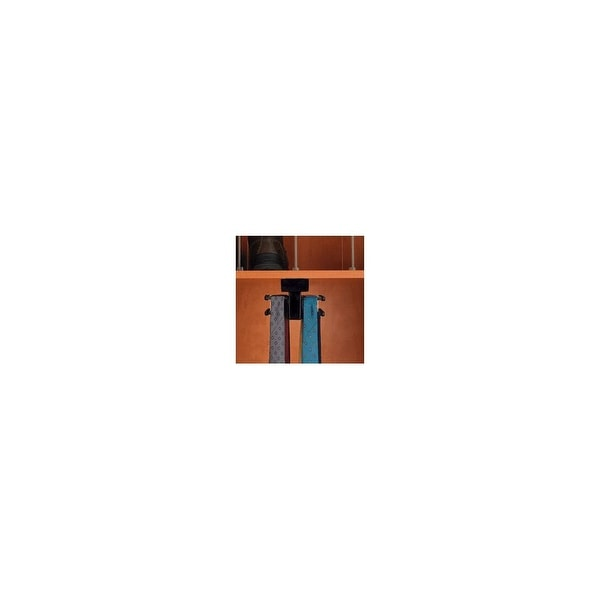 Rev-A-Shelf CWTTR-14-1 CWTTR Series 14 Inch Top Mount Sliding Tie Butler for up to 44 Ties - N/A