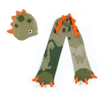Boys Green Dinosaur Hat Scarf Handmade Lightweight Winter Set|https://ak1.ostkcdn.com/images/products/is/images/direct/2758dea1a158e729044e241395571dca81d8bd9d/Boys-Green-Dinosaur-Hat-Scarf-Handmade-Lightweight-Winter-Set.jpg?impolicy=medium