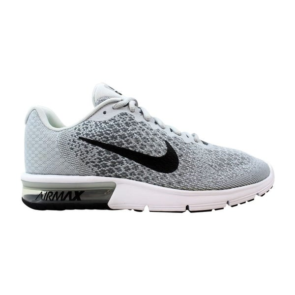 online store 6703c 76174 Shop Nike Air Max Sequent 2 Pure Platinum/Black-Cool Grey ...