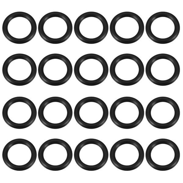 O-Rings Nitrile Rubber Gasket, 22mm Inner Diameter, 29mm OD, 3.5mm Width, 20pcs