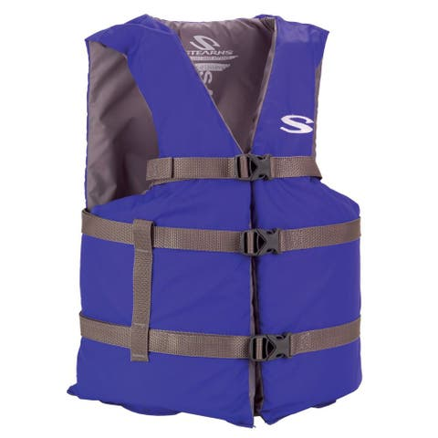 Stearns classic series adult blue universal life jacket