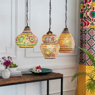 Link to Montmartre Moroccan Glass Hanging Pendant Similar Items in Decorative Accessories