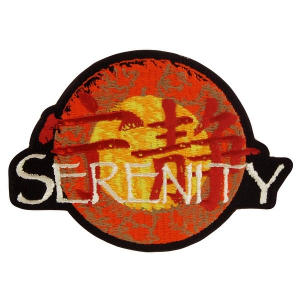 """Firefly TV Series 4.5"""" Serenity Patch"""