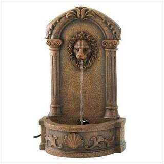 C. Alan 13055 Lion`s Head Courtyard Fountain