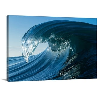 """Waves in the Pacific Ocean, Laguna Beach, California"" Canvas Wall Art"