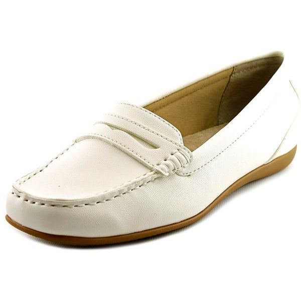 Trotters Francie Women White Loafers