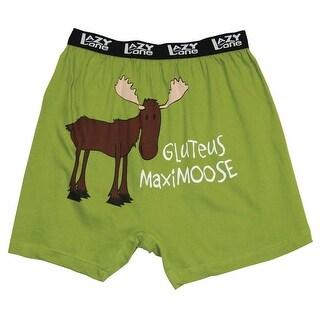 Men's FUNNY BOXER SHORTS - GLUTEUS MAXIMOOSE