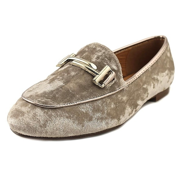 GC Shoes Billie Women Round Toe Canvas Gray Loafer
