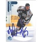Sergei Krivokrasov Nashville Predators 1999 Upper Deck SP Authentic Autographed Card  This item com