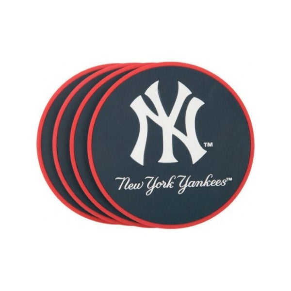 Shop New York Yankees Coaster Set 4 Pack Free Shipping