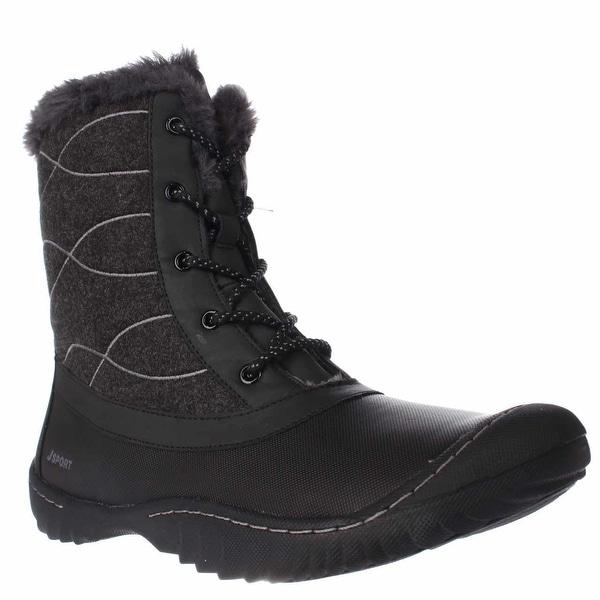 JSport by Jambu Autumn Mid-Calf Snow Boots, Black