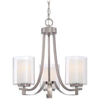 Minka Lavery 4103-84 3 Light Single Tier Chandeliers from the Parsons Studio Collection