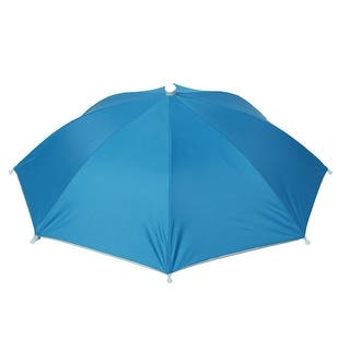 Unique Bargains Outdoor Beach Rain Sun Shade Light Blue Umbrella Hat|https://ak1.ostkcdn.com/images/products/is/images/direct/275ee80138b011a5eb17e29a8468843f11ddd3cc/Unique-Bargains-Outdoor-Beach-Rain-Sun-Shade-Light-Blue-Umbrella-Hat.jpg?impolicy=medium