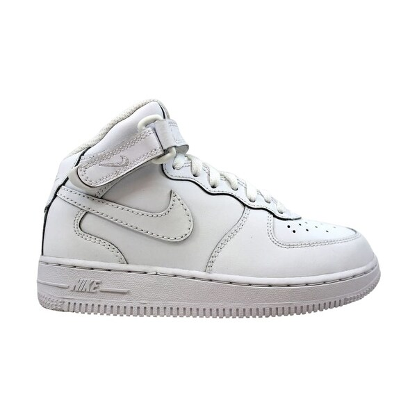 7003270c Shop Nike Force 1 Mid White/White 314196-113 Pre-School - Free ...