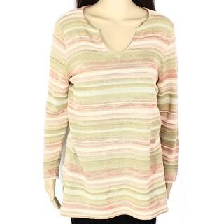 Lauren Ralph Lauren NEW Beige Women's Size Medium M Tunic Sweater