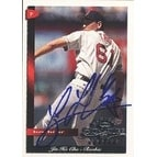 Jin Ho Cho Boston Red Sox 1998 Donruss Signature Series Rookie Autographed Card  Rookie Card  signa