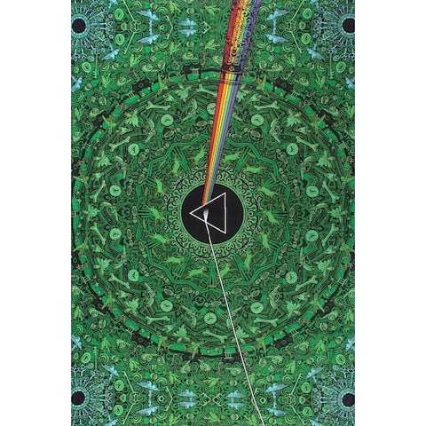 Cotton Pink Floyd Dark Side of Moon Tapestry Wall Hang Tablecloth Rectangular Beach Sheet