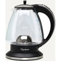 Capresso H2O Glass 6-Cup Rapid Boil Water Kettle 240 03