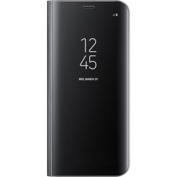 Samsung Galaxy S8+ S-View Flip Cover with Kickstand, Black