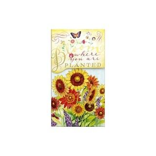 Punch Studio Note Pad Pocket Lg Bloom Where Plant